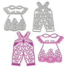Baby Girl Boy Dress Dungaree Clothes Metal Cutting Die Set Die Cutter card DIY