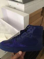 Balenciaga Violet High Tops Size 39 UK 6 Violet