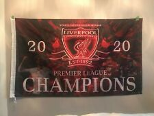 PRIDE OF Liverpool New Flag EXTRA LARGE/  Champions 2019/2020 -  5 ft x 3 f