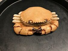 Rare Early Harmony Kingdom Side Steppin Crab Treasure Jest Box New no Box