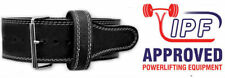 Powerlifting Single Prong 13mm Power Belt (M) - gym weight