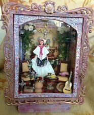 Pat Tyler Dollhouse Miniature OOAK Wedding Bride Room Box Doll House Dioram p730