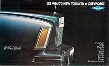 Chevrolet 1978 USA Market Sales Brochure Chevette Monza Camaro Caprice Corvette