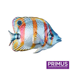 Primus Metal Butterfly Fish Tropical Fish Wall Art Hand Finished PA2045