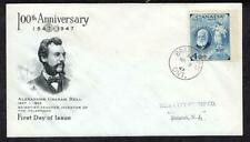 #274 Alexander Graham Bell March 3 1947 Brantford ONT, Art Craft Cachet