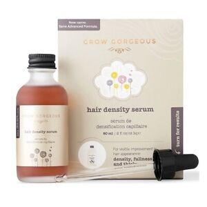 Grow Gorgeous Hair Density Serum 2 Oz New