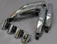 84102097  Next Gen Silverado Sierra GM OEM Chrome 4 Door Handle & Bezel Set NEW