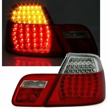 2 FEUX ARRIERE LED BLANC ROUGE CRISTAL BMW SERIE 3 E46 COUPE 04/2003 A 03/2006