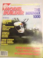 Model Builder Magazine The Minimax 1000 JR PCM-105 Heli July 1993 040917nonrh