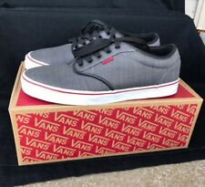 aea002340f Vans Off The Wall New Shoes size 11.5 With Box. Gray Red Accents.