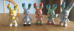 Kidsview tea bunnies 5 figure lot