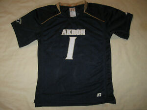 Akron Zips Football Jersey Boys Medium 8 Youth UA Zippy NCAA AKR OHIO