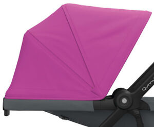 Quinny Extensible Sun Canopy Pink For Zapp Flex And Lux New