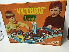 HTF Retro Vintage 1972 Matchbox City For Matchbox Cars/Hot Wheels, Etc by Ideal