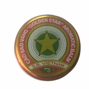 Gold Star Aromatic  Balm, Cao Sao Vang Vietnam 10 grams