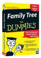 Software PC Family Tree for Dummies w/ Reference Book NEW SEALED BOX