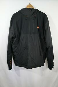 First Lite Uncompahgre Insulated Hunting Jacket Coat  Mens L Black