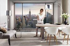 NON-WOVEN Photo Wallpaper Wall Mural PENTHOUSE - NEW YORK SKYLINE 368x254cm HUGE