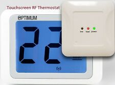 Optimum Thermiotouch RF Wireless Touchscreen Room Themostat Digital Backlit Stat