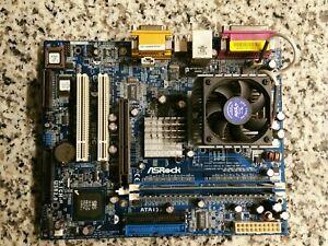 ASRock K7S41GX Socket A 462 Motherboard MicroATX IDE 512MB Ram/AMD Duron Bundle