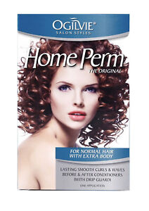 Men & Women Home Perm Kit - (For Normal Hair with Extra Body Curls) - Ogilvie