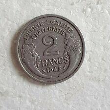 PIECE FRANCE  de 2 Francs 1945 Morlon