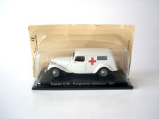VOITURE MINIATURE CITROEN TRACTION 11 BL FOURGON AMBULANCE 1937 - NOREV - 1/43