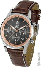 "Jacques Lemans Sports reloj hombre Watch ""UEFA Champions League"" modelo: u-58 nuevo"