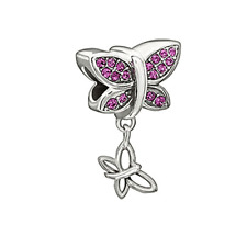 Chamilia Come Fly With Me Charm In 925 Sterling Silver, 2025-1105