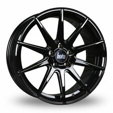 "17"" BOLA CSR ALLOY WHEELS GLOSS BLACK FITS AUDI A3 S3 TT VW GOLF BEETLE 5X100"