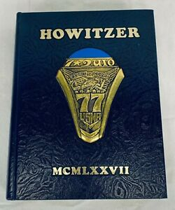 """1977 US Military Academy West Point """"Howitzer"""" Yearbook"""