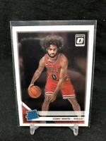 2019-20 Panini Donruss Optic Rated Rookie Coby White RC #180, Chicago Bulls I37