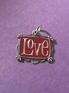 NEW James Avery Enamel Love Vintage Charm