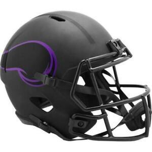 Minnesota Vikings Eclipse Alternate Riddell Speed Mini Helmet New in box