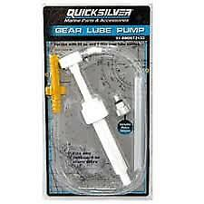 Genuine Quicksilver Gear Lube Pump Fits all Quart & Ltr Bottles