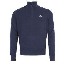 Jerséis y cárdigan de hombre azul 100% algodón talla M