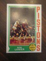 1974 - 1975 Topps Bob Lanier Detroit Pistons #131 Basketball Card