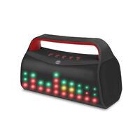 Bluetooth Lautsprecher 6W LED Licht Wireless Speaker USB MP3 AUX Radio Tragbar