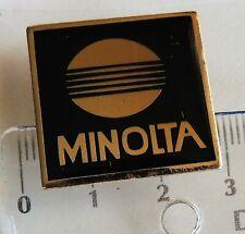 Minolta crest badge pin anstecknadel