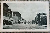 Vintage Choctow Avenue Mcalester Oklahoma Postcard Used Unposted Plastic Sleeve