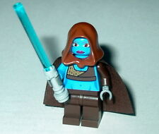 STAR WARS #40 Lego Aayla Secura w/lightsaber custom Genuine Lego Parts NEW