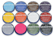 Snazaroo Face Paints, Water Based, 18ml