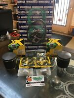 96'-99' Ski-doo 670 Top End Kit 78.50mm Bore Mxz 670 Summit Pistons Gaskets .50m