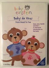 Baby Einstein - Baby da Vinci - From Head To Toe - DVD (2004) - NEW