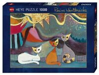 Heye Puzzles - 1000 piece Jigsaw Puzzle Yellow Ribbon HY29853