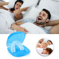 Stop Snoring Mouthpiece Guard Anti Snore Sleep Bruxism Apnea Teeth Grinding