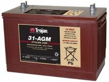 SUMP PUMP BATTERY TROJAN 31-AGM12V 100AH AGM GRP 31 DEEP CYCLE  DUAL TERMINAL EA