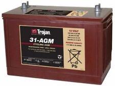 SUMP PUMP BATTERY TROJAN 31-AGM12V 100AH AGM GRP 31 DEEP CYCLE  DUAL TERMINAL EA