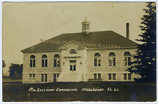 Antique Real Photo Postcard Rppc McCullough Gym Middlebury College Vermont