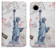 Landscape Design (3) for LG Nexus 5 E980 Leather Card Wallet Case Cover Stand